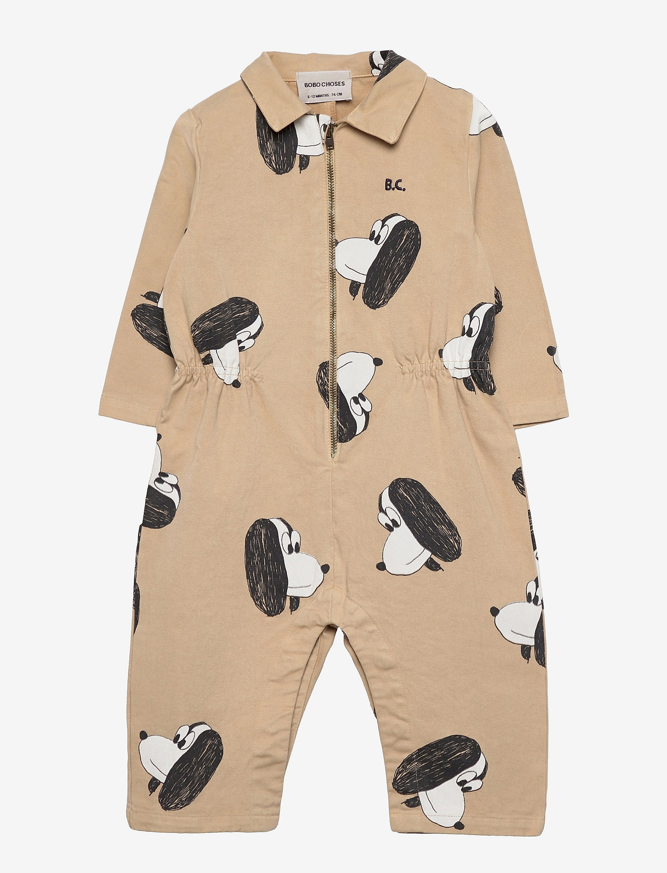 Bobo Choses - Doggie All Over woven overall - langärmelig - rainy day - 0