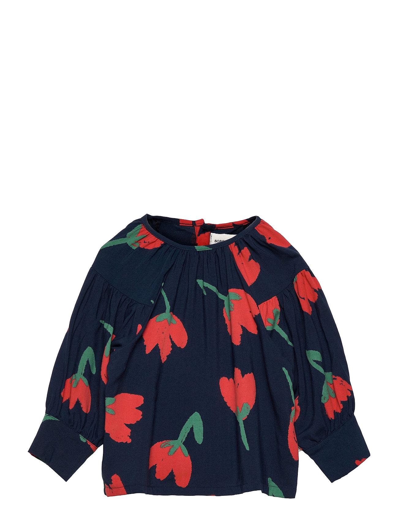 Big Flowers Woven Blouse Bluse Tunika Multi/mønstret Bobo Choses