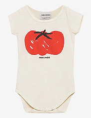 Bobo Choses - Tomato Short Sleeve Body - kurzärmelige - turtledove - 0