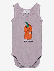 Bobo Choses - Vote For Pepper Sleeveless Body - kurzärmelige - lavender aura - 0
