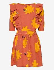 Bobo Choses - Sparkle All Over Woven Dress - kleider - topaz - 0