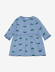 Bobo Choses - Umbrella All Over Dress - robes - forever blue - 0