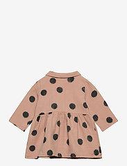 Bobo Choses - Spray Dots Princess Dress - robes - rose tan - 1