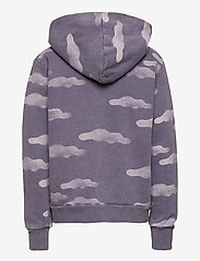 Bobo Choses - Clouds All Over Zipped Hoodie - hættetrøjer - grape compote - 2