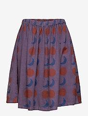 Bobo Choses - Solar Eclipse Woven Skirt - spódnice - grape compote - 1
