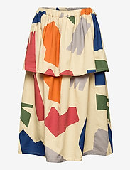 Bobo Choses - Shadows Woven Skirt - spódnice - brown rice - 1