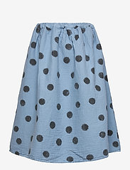 Bobo Choses - Spray Dots Woven Skirt - spódnice - forever blue - 2