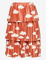 Bobo Choses - Clouds All Over Woven Skirt - spódnice - ketchup - 2
