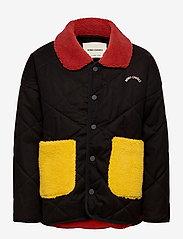 Bobo Choses - Bobo Choses Multicolor Quilted Jacket - dunjakker & forede jakker - grape compote - 1