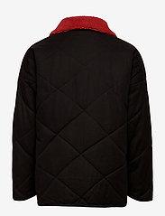 Bobo Choses - Bobo Choses Multicolor Quilted Jacket - dunjakker & forede jakker - grape compote - 2