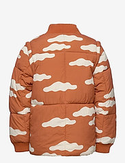 Bobo Choses - Clouds All Over Padded Jacket - puffer & padded - ketchup - 2