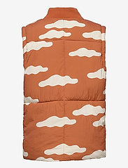 Bobo Choses - Clouds All Over Padded Jacket - puffer & padded - ketchup - 4