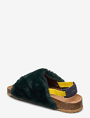 Bobo Choses - B.C Embroidered Sheepskin Sandals - matalat sandaalit - greener pastures - 3