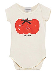 Tomato Short Sleeve Body - TURTLEDOVE