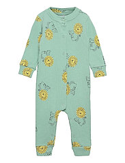 Pet A Lion All Over Rib Overall - GOSSAMER GREEN