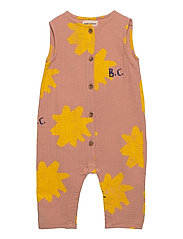 Sparkle All Over Woven Overall - DUSTY PINK