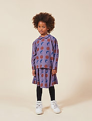 Bobo Choses - Solar Eclipse Woven Skirt - spódnice - grape compote - 0