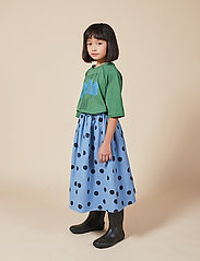 Bobo Choses - Spray Dots Woven Skirt - spódnice - forever blue - 3