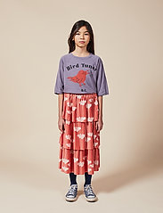 Bobo Choses - Clouds All Over Woven Skirt - spódnice - ketchup - 0