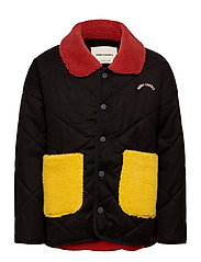 Bobo Choses Multicolor Quilted Jacket - GRAPE COMPOTE