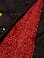 Bobo Choses - Bobo Choses Multicolor Quilted Jacket - dunjakker & forede jakker - grape compote - 4