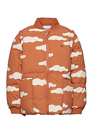 Clouds All Over Padded Jacket - KETCHUP