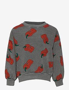Vote for Pepper All Over Sweatshirt - sweatshirts - december sky