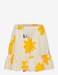 Sparkle All Over Ruffle Mini Skirt - dresses & skirts - turtledove