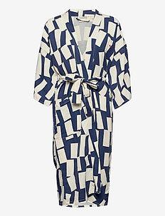 Shadows Kimono - kimonot - white swan