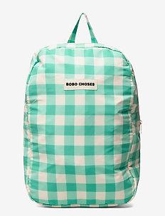 Vichy Schoolbag - backpacks - mint