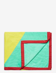 Geometric Towel - accessories - mint