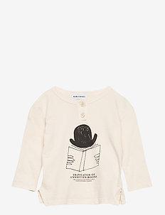 Translator Buttonned T-Shirt - langärmelige - pristine