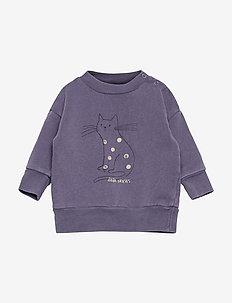 Cat Sweatshirt - sweatshirts - grape compote