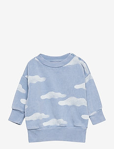 Clouds All Over Sweatshirt - sweatshirts - forever blue