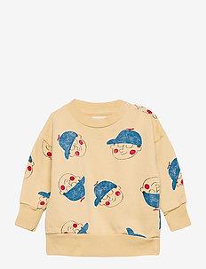 Boy All Over Sweatshirt - sweatshirts - brown rice