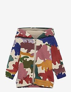 Dinos All Over Hooded Sweatshirt - hættetrøjer - pristine