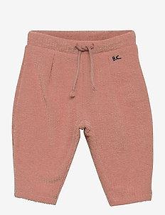 BC Terry Towel Jogging Pants - jogginghosen - rose tan