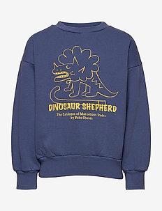 Dino Sweatshirt - sweatshirts - blue indigo