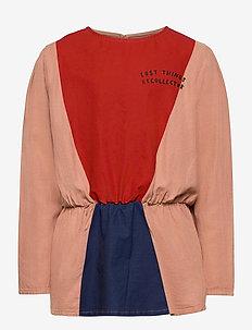 Triangles Girl Shirt - puserot ja tunikat - rose tan