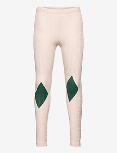 Diamond Leggings - leggings - cream tan