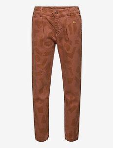 Shades All Over Chino Pants - byxor - mahogany