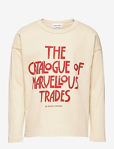 Catalogue Of Marvelous Trades Long Sleeve T-shirt - langärmelige - brown rice