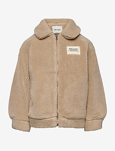 Catalogue Of Marvelous Trades Sheepskin Bomber - bomber jackets - brown rice