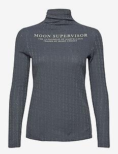 Translator Turtle Neck T-shirt - hauts à manches longues - midnight navy