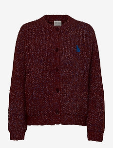 Chunky Knitted Cardigan - gilets - ketchup