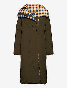 Reversible padded coat - toppatakit - greener pastures