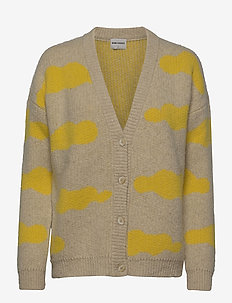 Clouds Knitted Cardigan - gilets - pristine