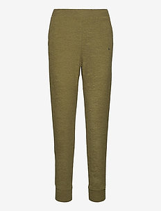 Khaki Terry Towel Pant - verryttelyhousut - olive branch