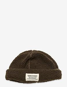 Patch Sheepskin Hat - mützen - greener pastures