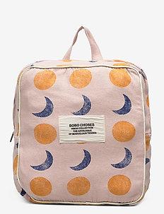 Solar Eclipse All Over Schoolbag - rygsække - cream tan